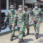 Dandim Sukoharjo Tinjau Dapur Lapngan Sinergitas TNI & Polri