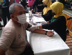 Mobile Vaksin PMI bersama Ikatan Alumni Pelajar Jakut di mulai