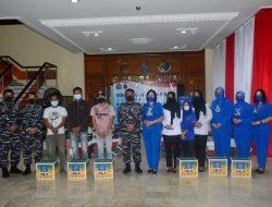 Peringati HUT Ke-76 TNI AL, Pushidros TNI AL Gelar Donor Darah dan Serbuan Vaksinasi COVID-19